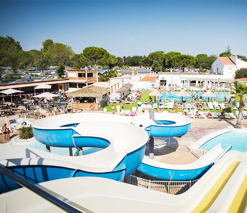 Parc aquatique du camping Argelès Vacances